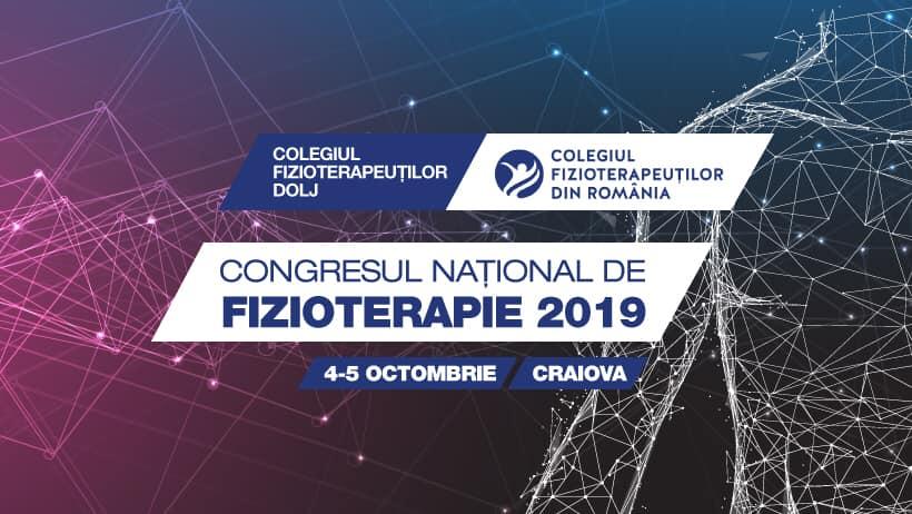 Congresul Național de Fizioterapie - Craiova 2019 - 04-05.10.2019